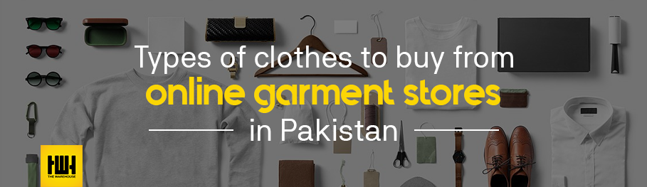 online garment stores in Pakistan