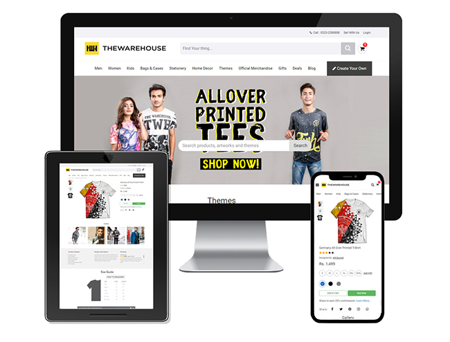 Online Shopping store