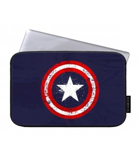 captain america art printed laptop sleeves