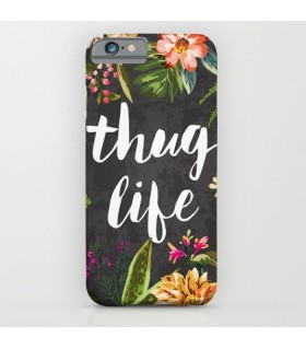 thug life art printed mobile cover