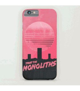 Monoliths Trust art printed mobile cover