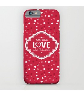 your true love printed mobile cover