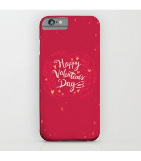 HAPPY VALENTINE'S DAY floral printed mobile cover
