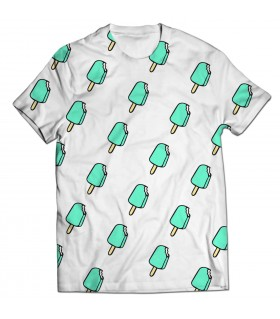 ice cream all over printed t-shirt