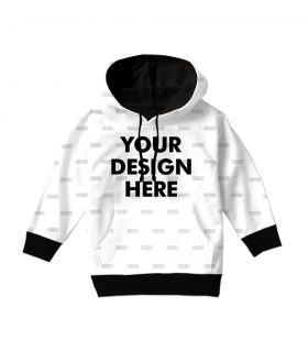 create your own kids all over hoodie