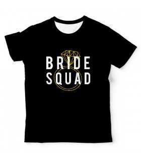 Bride Squad UNISEX ALL-OVER PRINT T-SHIRT