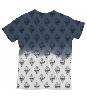 Mountain Fade UNISEX ALL-OVER PRINT T-SHIRT