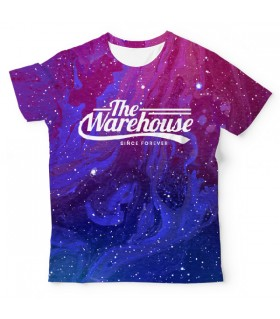 Purple and Blue Galaxy UNISEX ALL-OVER PRINT T-SHIRT
