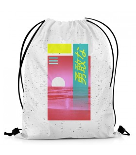 Brave Sea DRAWSTRING BAG