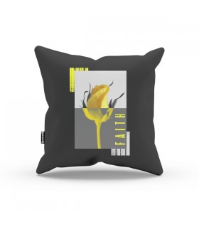 Yellow Faith Aestheticos PILLOW