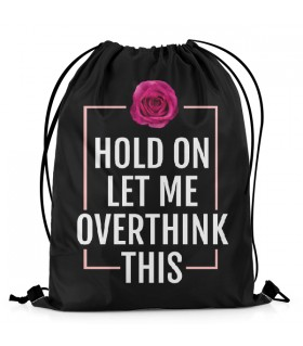 Overthink This Aestheticos DRAWSTRING BAG
