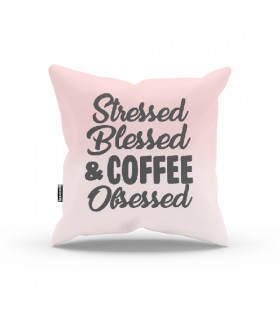 Coffee Posessed Aesthetico PILLOW