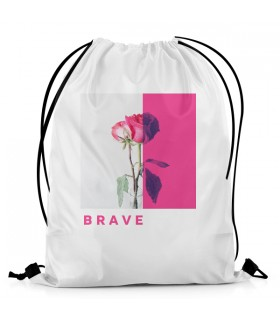 Brave Rose Aestheticos DRAWSTRING BAG