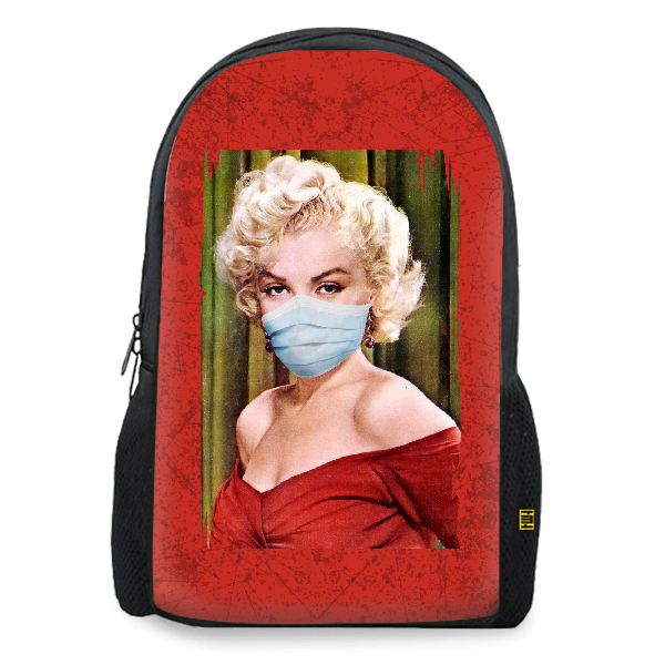 Masked Marilyn Monroe Aestheticos Backpack