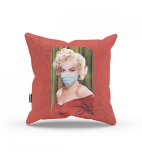 Masked Marilyn Monroe Aestheticos PILLOW
