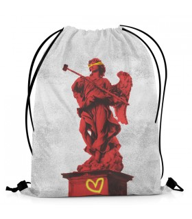 Statue Of Might DRAWSTRING BAG