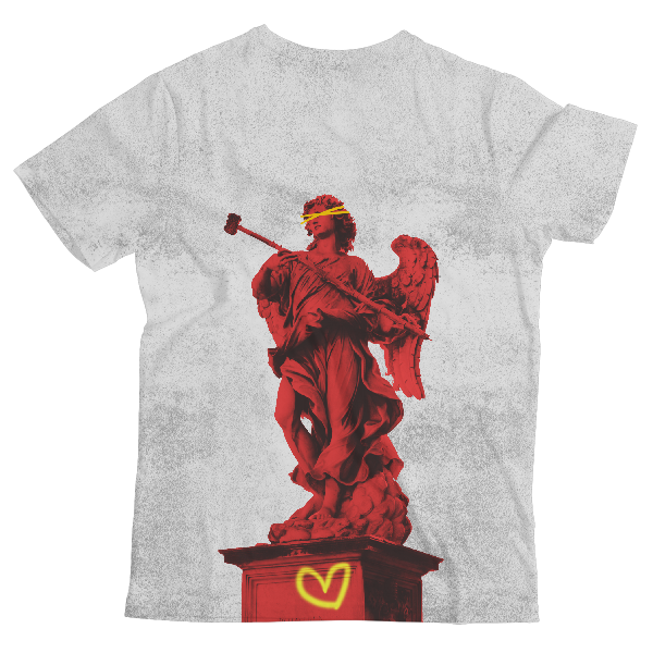 Statue Of Might Unisex All-Over Print T-Shirt