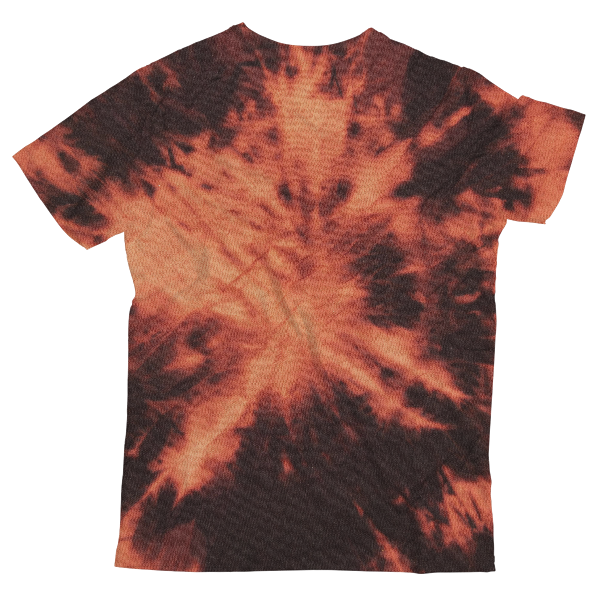 Gradient Tie Dye Unisex All-Over Print T-Shirt