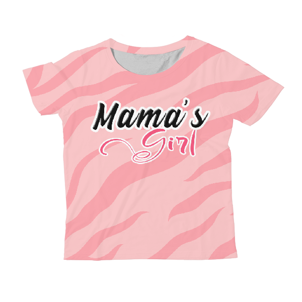 Mama'S Girl Kids All-Over Print T-Shirt