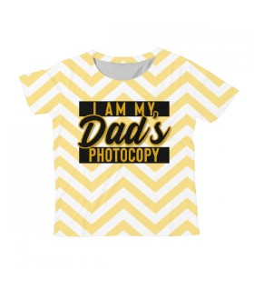 Dad's Photocopy KIDS ALL-OVER PRINT T-SHIRT