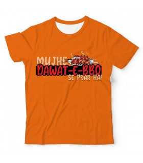 Dawat-E-Bbq UNISEX ALL-OVER PRINT T-SHIRT