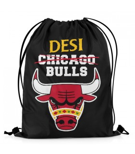 Desi Bulls DRAWSTRING BAG