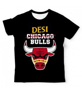 Desi Bulls UNISEX ALL-OVER PRINT T-SHIRT