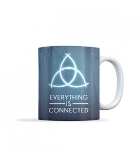 Dark Everything Is Connected MUG