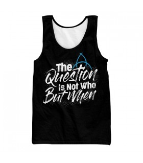 Dark The Question UNISEX TANK TOP