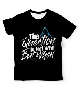 Dark The Question UNISEX ALL-OVER PRINT T-SHIRT