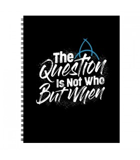 Dark The Question NOTEBOOK