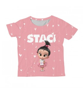 Staci KIDS ALL-OVER PRINT T-SHIRT