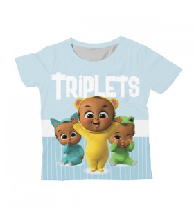 Triplets KIDS ALL-OVER PRINT T-SHIRT
