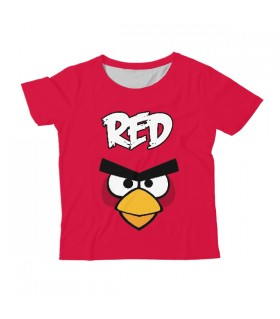 Red KIDS ALL-OVER PRINT T-SHIRT