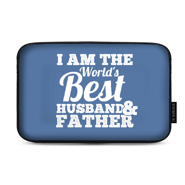 Best Husband And Father Laptop Sleeve