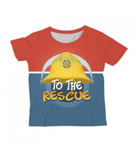 To The Rescue KIDS ALL-OVER PRINT T-SHIRT