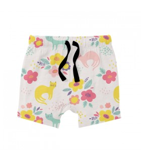 Floral Pattern KIDS SHORTS
