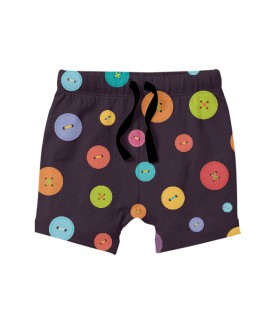 Buttons Pattern KIDS SHORTS