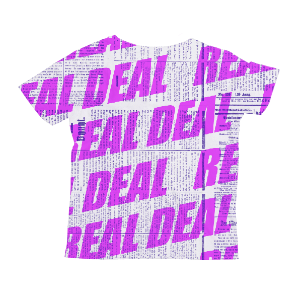 Real Deal Kids All-Over Print T-Shirt