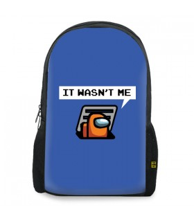 Orange Sus Among Us BACKPACK