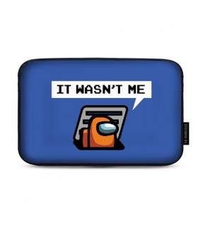Orange Sus Among Us LAPTOP SLEEVE