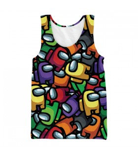 Crewmates Pattern UNISEX TANK TOP