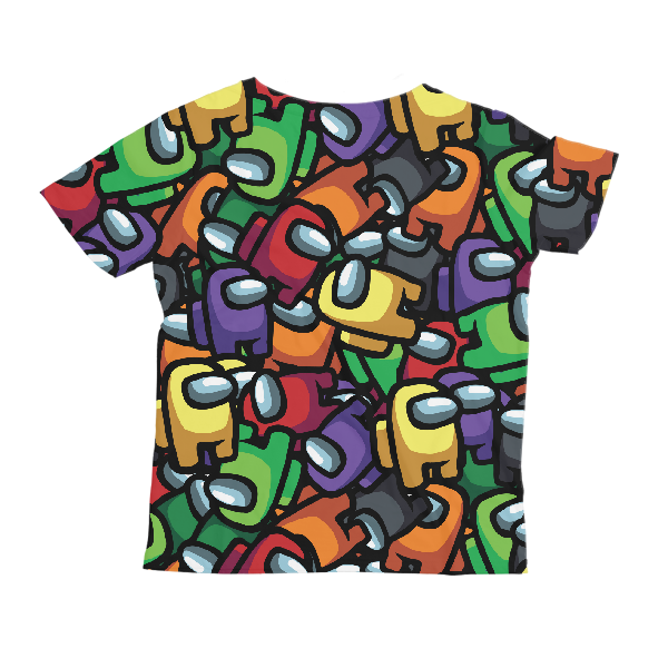 Crewmates Pattern KIDS ALL-OVER PRINT T-SHIRT