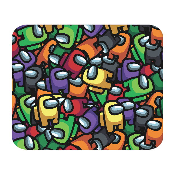 Crewmates Pattern MOUSE PAD