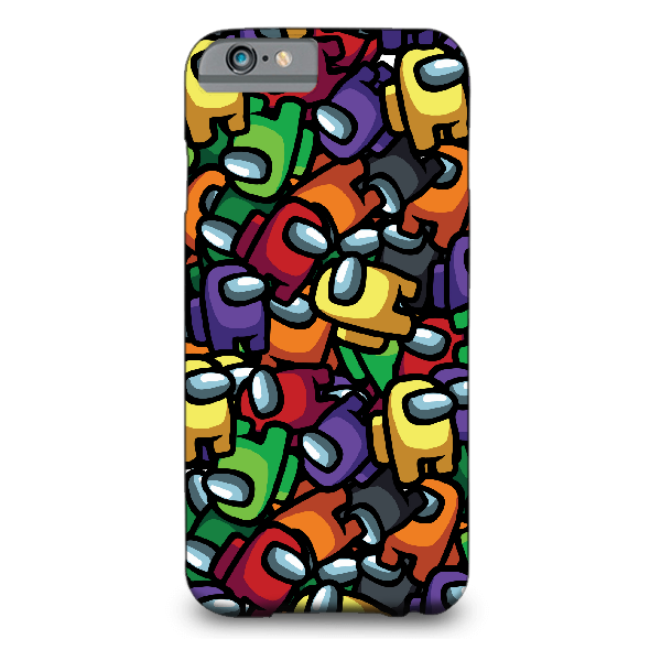 Crewmates Pattern MOBILE COVER