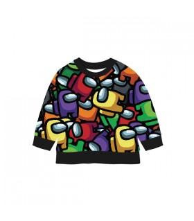 Crewmates Pattern KIDS SWEARTSHIRT