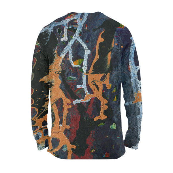 Abstract Pattern Full Sleeves T-Shirts