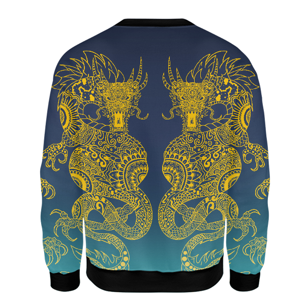 Twin Dragons Unisex Sweatshirt