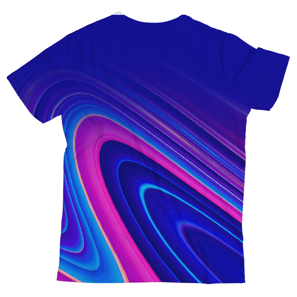 Liquid Marble Twh Classics UNISEX ALL-OVER PRINT T-SHIRT