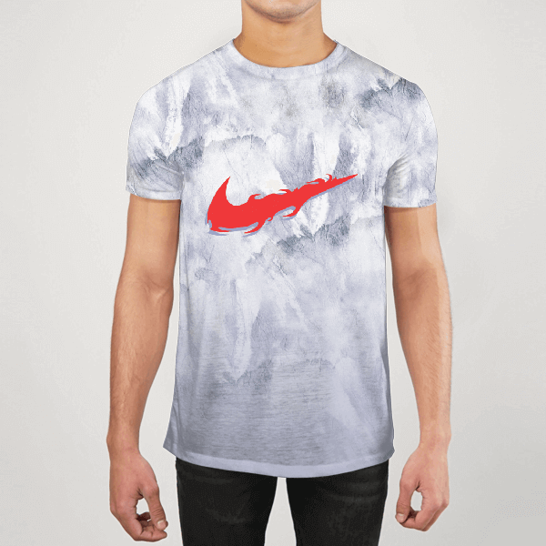 Nike Flame On Ice Men ALL-OVER PRINT T-SHIRT
